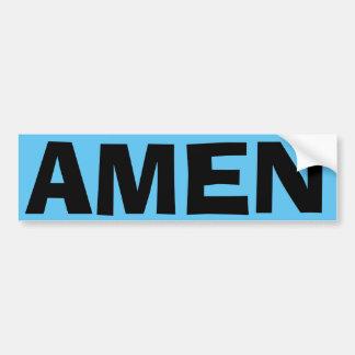 Amen Bumper Sticker