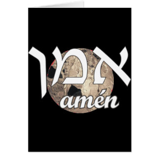 Amen Card