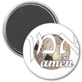 Amen Imán Redondo 7 Cm