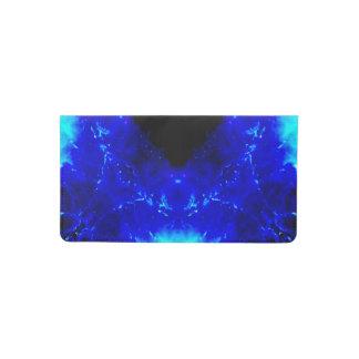Amen Jin's Blue Flame Desires Checkbook Cover
