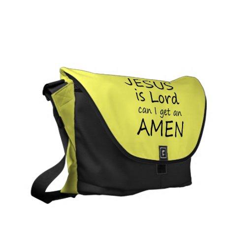 Amen la bolsa de mensajero de Jesús Bolsas Messenger