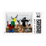 Amen Postage Stamps