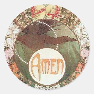 Amen Sticker