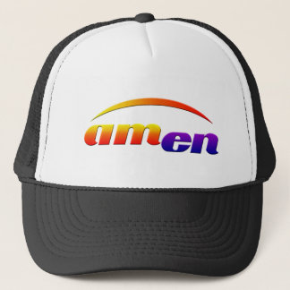 amen trucker hat