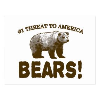 Amenaza #1 para América: ¡Osos! Postales