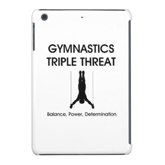 Amenaza SUPERIOR del triple de la gimnasia Fundas De iPad Mini