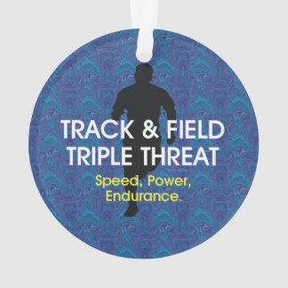 Amenaza SUPERIOR del triple de la pista