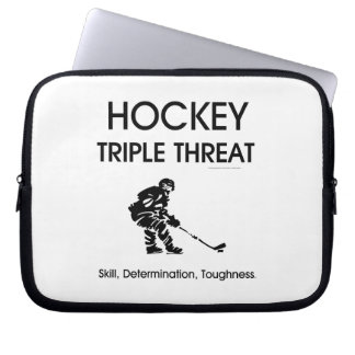 Amenaza SUPERIOR del triple del hockey Manga Portátil