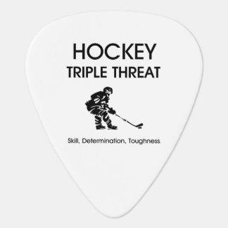 Amenaza SUPERIOR del triple del hockey Plectro