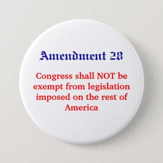 Amendment 28, Congress shall NOT be exempt from... Button