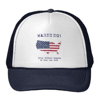 Amendment 2.5 trucker hat