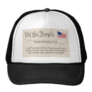 Amendment II Mesh Hats