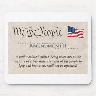 Amendment II Mouse Pad