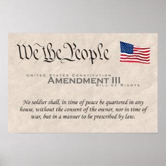 Amendment III Poster