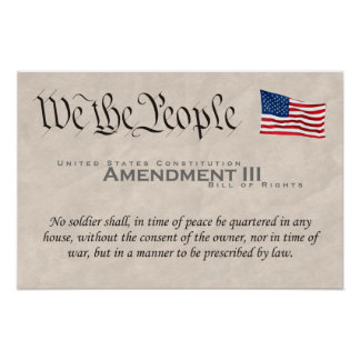 Amendment III Print