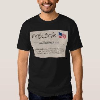 Amendment III T-shirt