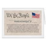Amendment V Card