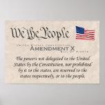 Amendment X Poster