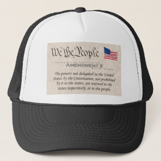 Amendment X Trucker Hat