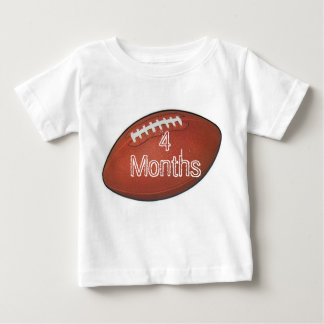 Amer Football 4 Month Baby Shirt for Baby Pictures