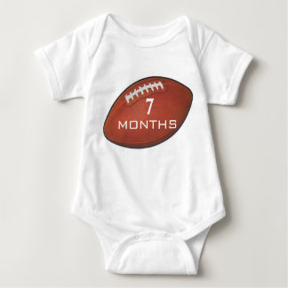 Amer Football 7 Month Baby Shirt for Baby Pictures