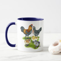 Ameraucana Chicken Family Mug