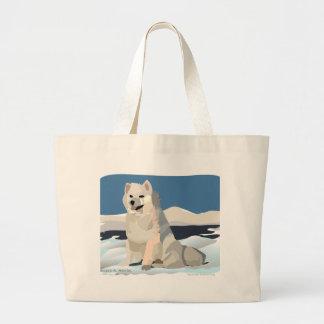 Amercan Eskimo - Just Chillin' Canvas Bag