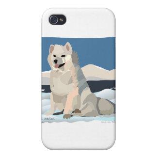 Amercan Eskimo - Just Chillin' iPhone 4/4S Case