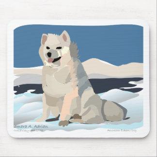 Amercan Eskimo - Just Chillin' Mousepads