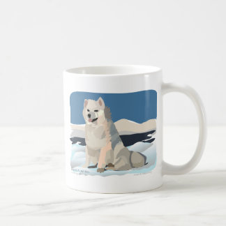 Amercan Eskimo - Just Chillin' Coffee Mug