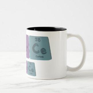 Amerce-Am-Er-Ce-Americium-Erbium-Cerium Two-Tone Coffee Mug