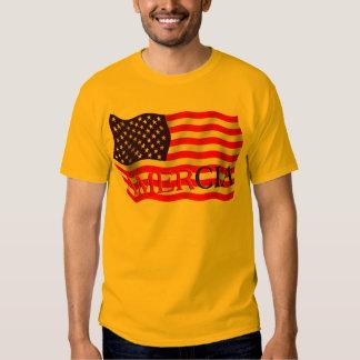 AMERCIA false flag design (America) T Shirt