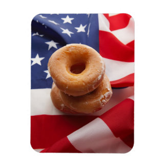 Amercian Diet Photograph Premium Magnet