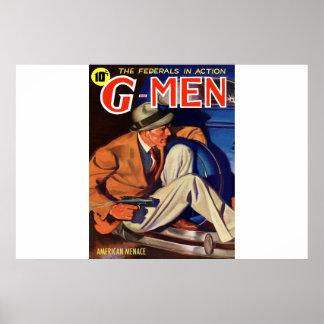 Amercian Menace Poster