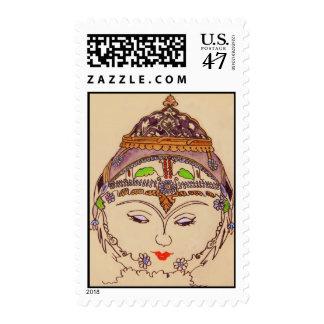 Ameretat Goddess of Flora Postage