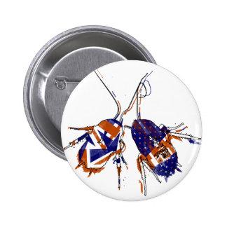 Ameri-Brit Cockroaches Button