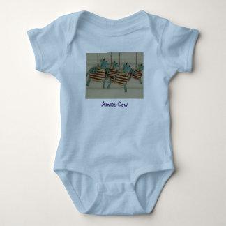 Ameri-Cow Baby Bodysuit