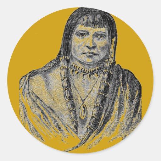 Amerian Indians Sticker