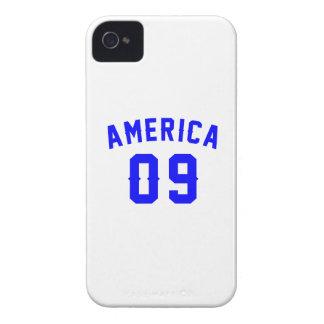 America 09 Birthday Designs Case-Mate iPhone 4 Case