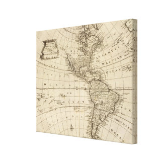 América 10 lona envuelta para galerias