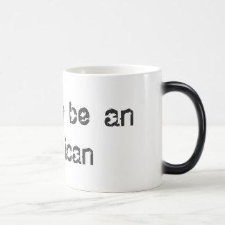 america 11 oz magic heat Color-Changing coffee mug
