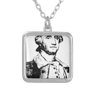america-1297829 square pendant necklace