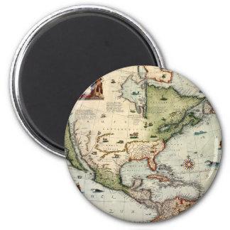 America 1610 magnet