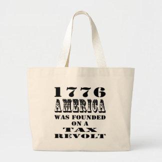 América 1776 fue fundada en una rebelión de impues bolsa