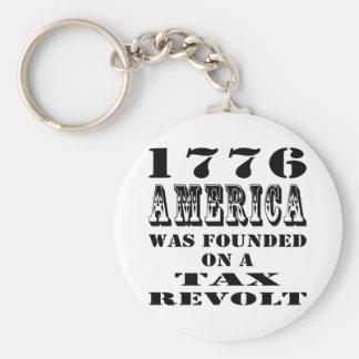 América 1776 fue fundada en una rebelión de impues llavero redondo tipo pin