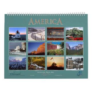 AMERICA 2016 - Walter Choroszewski - Calendar