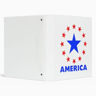 America 3 3 ring binder