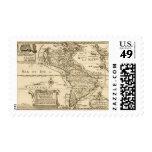 América 4 timbre postal