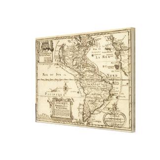 América 5 impresión en lona estirada