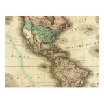 America 5 postcard